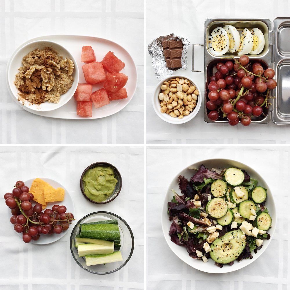 Meal Plan With Grapes The Wedding Nutritionist