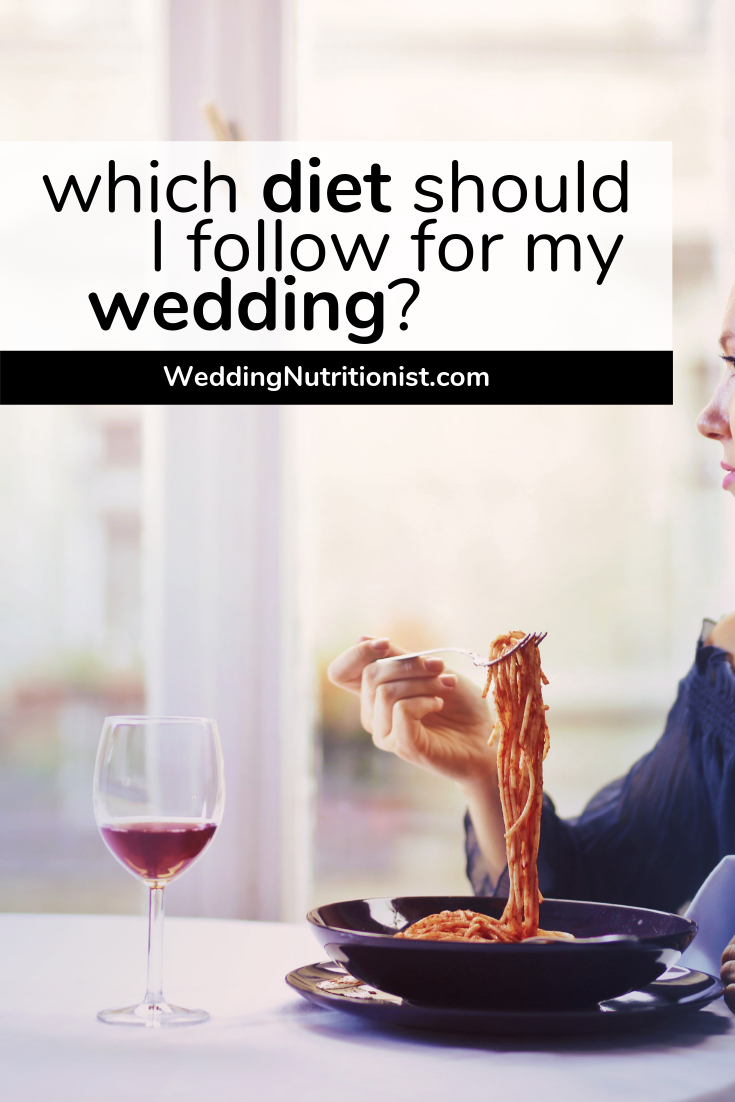 Popular Diets to Follow to Get Ready for the Wedding