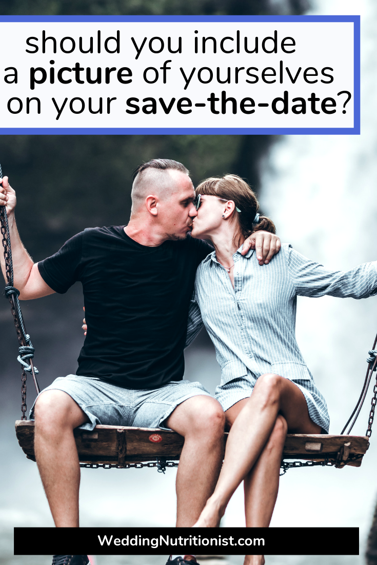 Picture of YOU on Your Save-the-Date
