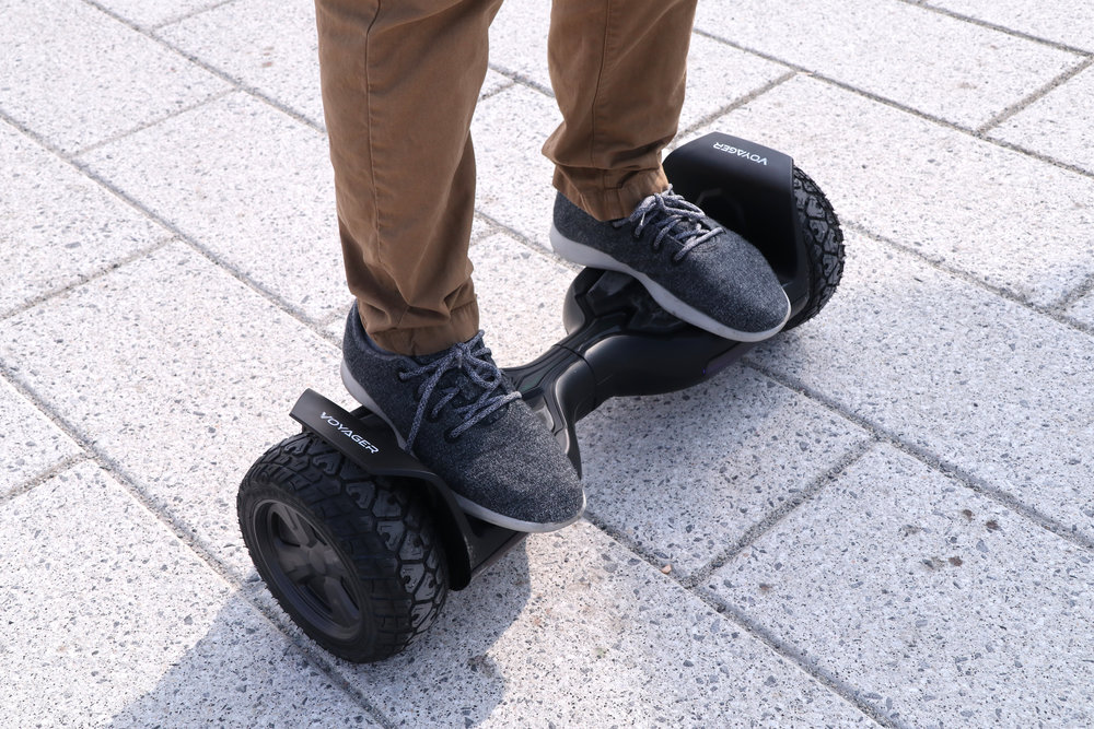 - The Air Wheel Offroad is the perfect rugged hoverboard to impress your friends!