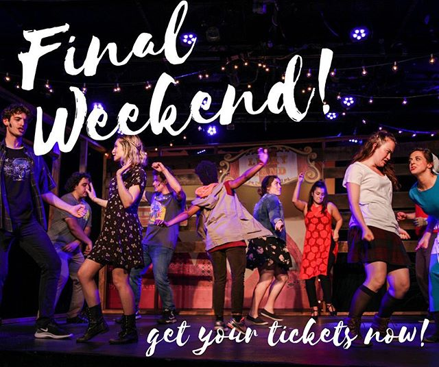 Last chance to dance! 🎤  Friday at 8pm Saturday at 8pm Sunday at 3pm  Www.singleriderthemusical.com  Photo: @sturci