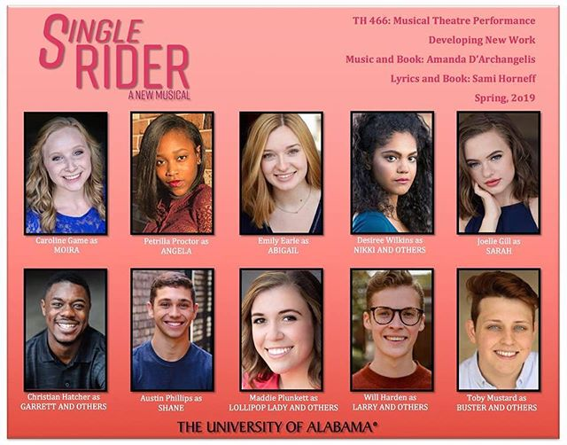 Single Rider is going South! We can't wait to bring #LuckyLand to the @univofalabama in March! 🎪 🎠
