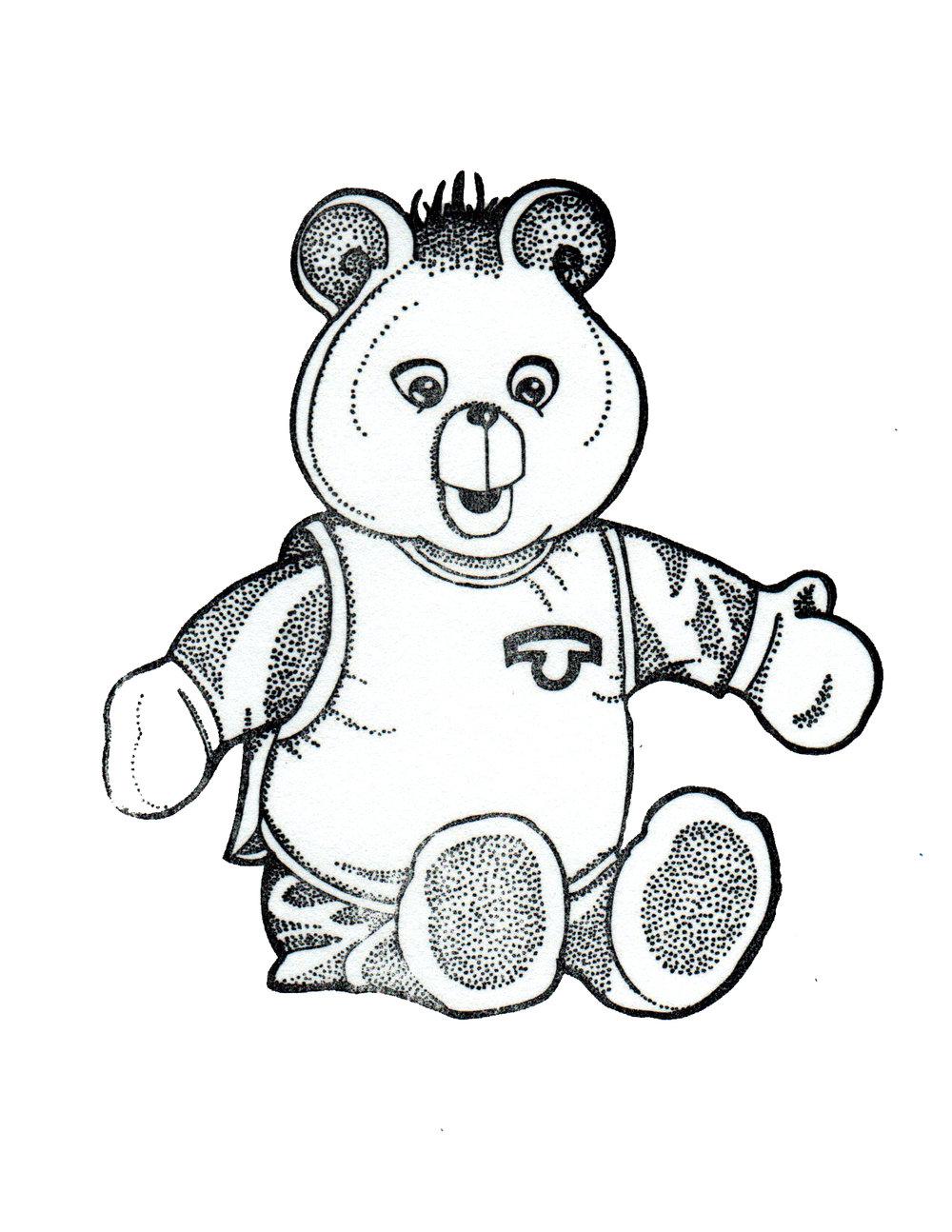 Teddy Print