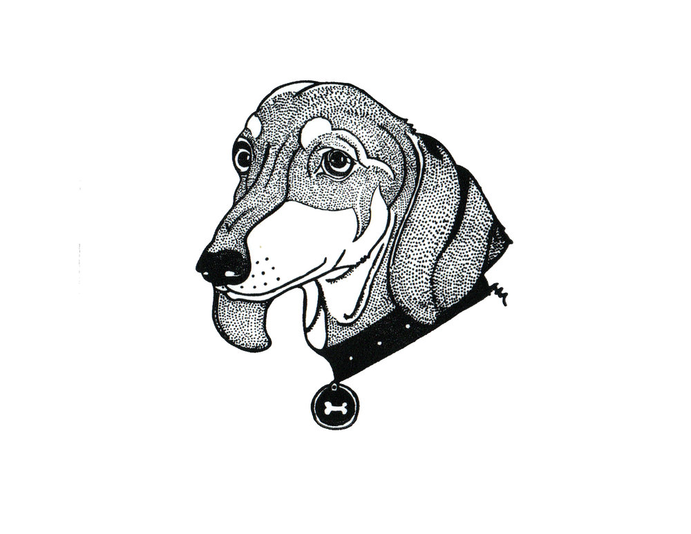 Dacshund Print