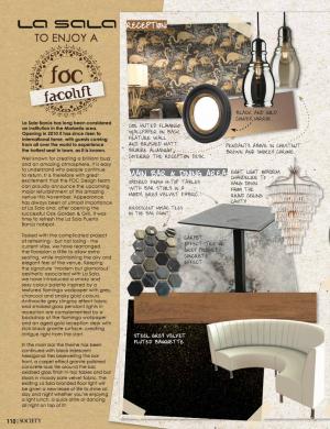 La Sala Refurb | Society Magazine