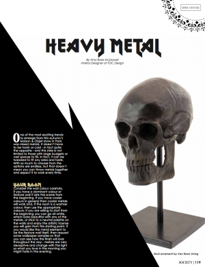 Heavy Metal | Society Magazine
