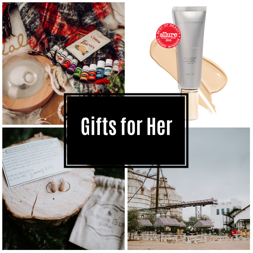 Gift Ideas for Her 2018
