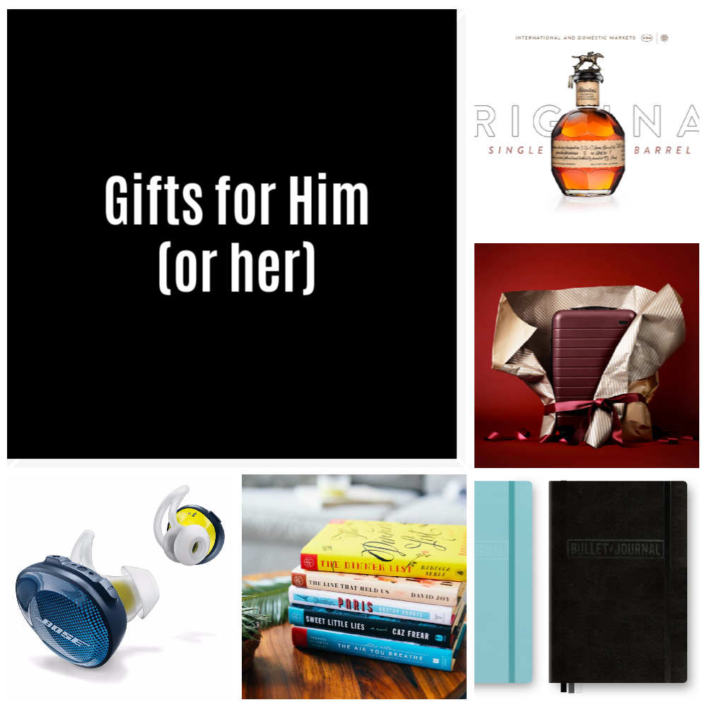 Gift ideas for him 2018