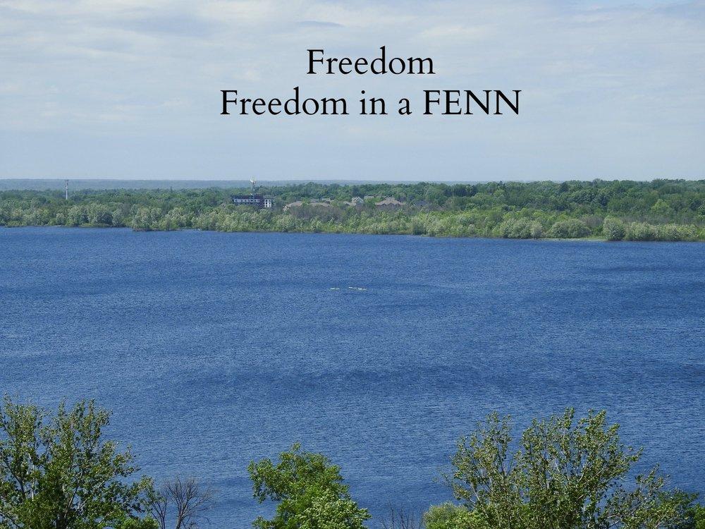 it's called Freedom;freedom in a FENN -