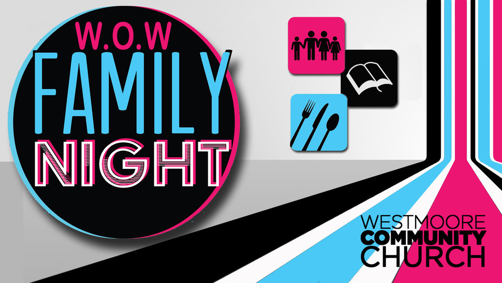 Join us wednesdays for family night! - January 23 - March 13Learn More >