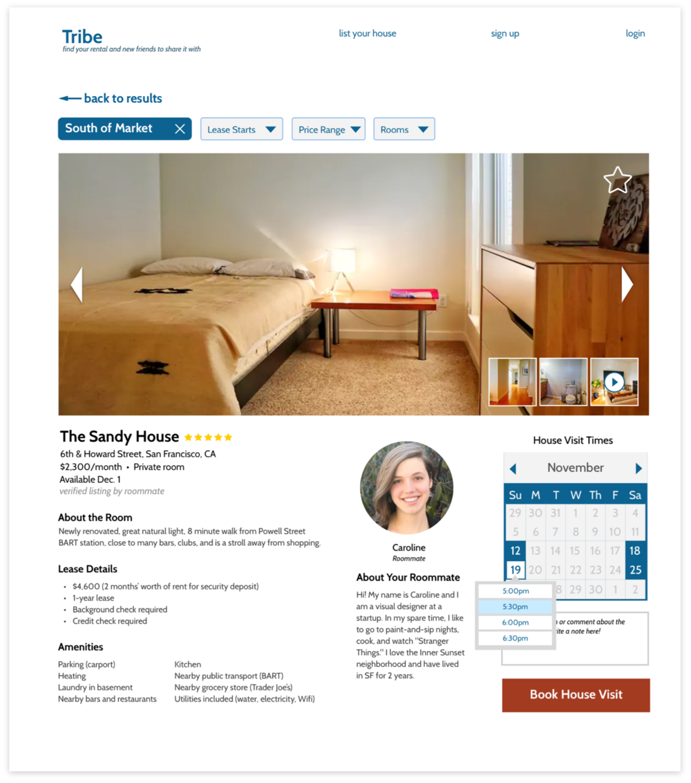 Housing Listing