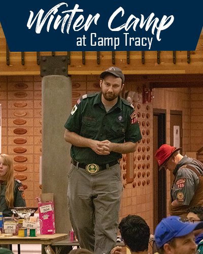 Winter Camp at Camp Tracy