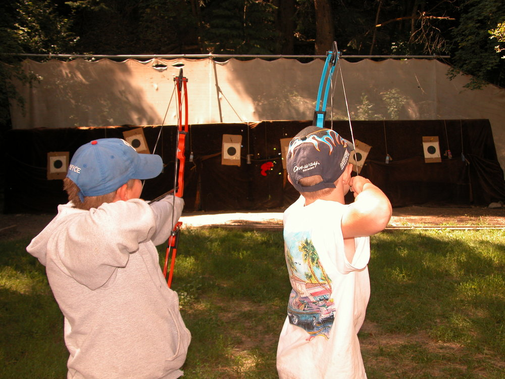 Archery is always a favorite activity in Cub Country.