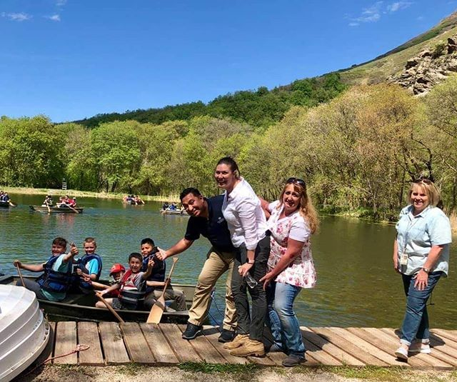 Summer camp has begun! 🏞️⠀ ⠀ Our Learning For Life camp has been happening over the past several days. And all the kids & adults are having a great time in the beautiful weather we've been enjoying!⠀ ⠀ #boyscoutsofamerica #saltlakescouts #camp #summer #lake #tracyscouts #millcreekcanyon #lfl #learningforlife #canoe #rowboat #summercamp #millcreek #camping #camperlifestyle #camping⛺️ #campsite #campingout #campground #camper