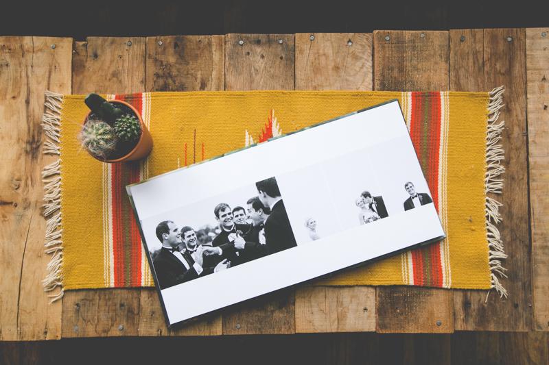 Press PRINT ALBUM - OUR PRESS PRINTED ALBUM ENHANCES THE IMAGERY WITH A CUSTOM DESIGN