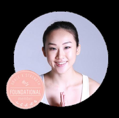 Angie Lam Grace x Strength hong kong yoga teacher