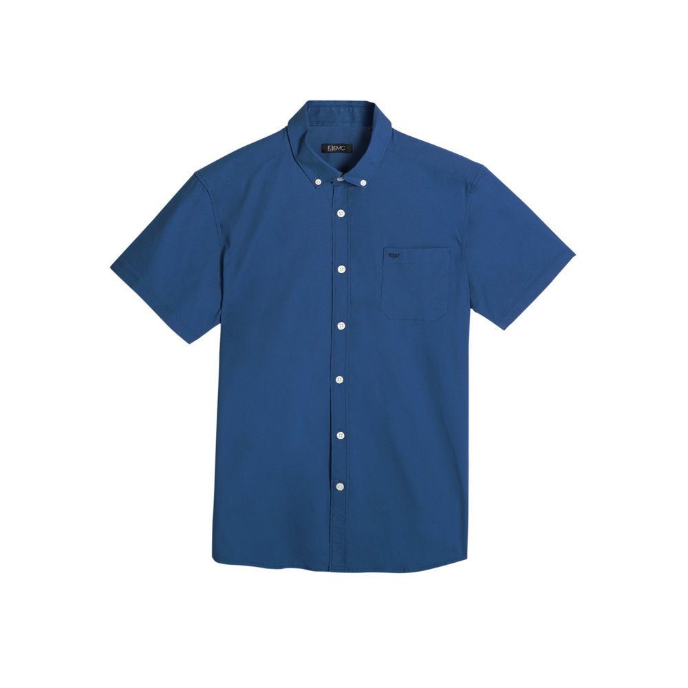 A shirt with a subtle all-over print is perfect for both work and play.  Poplin Shirt with All-Over Print (P799)