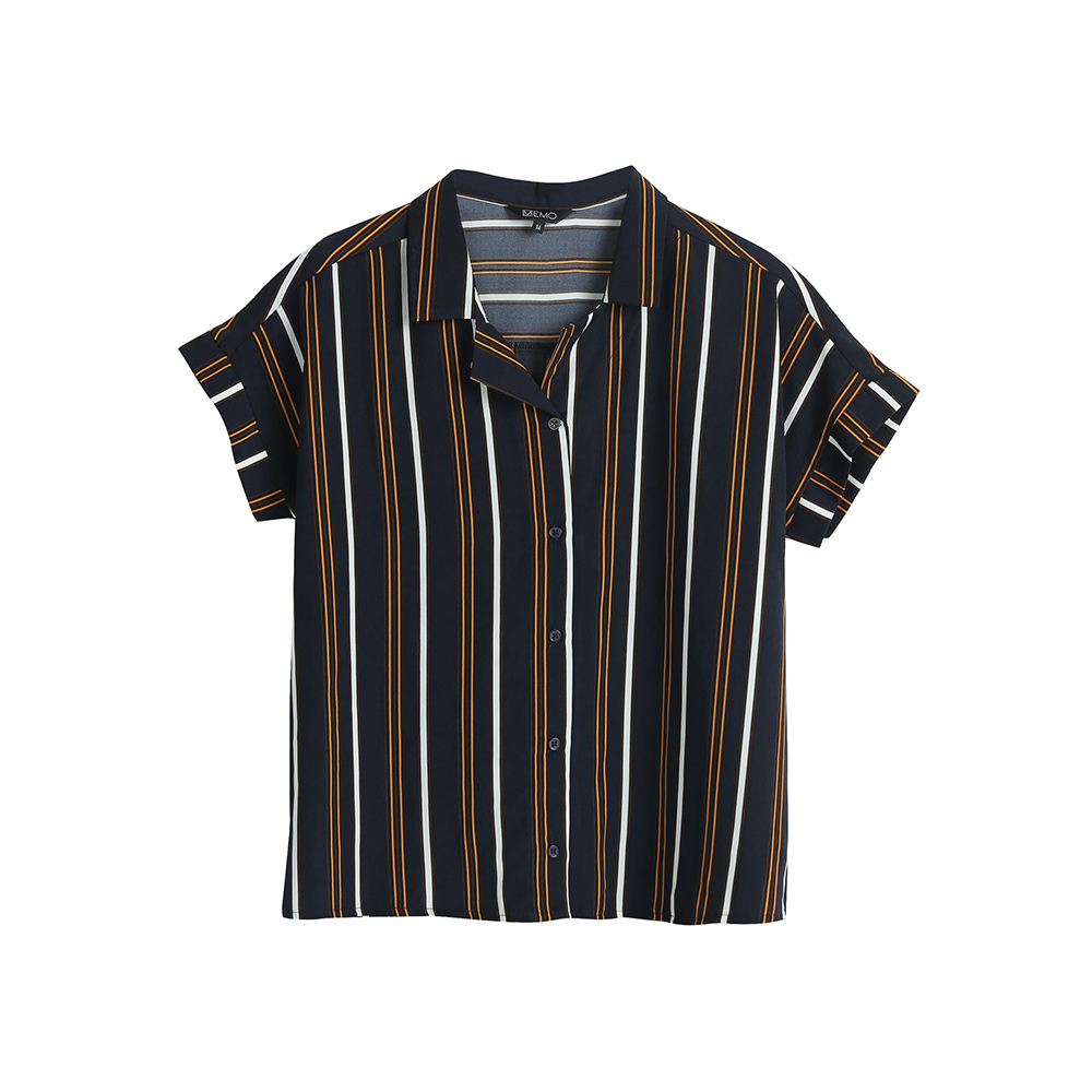 VERTICAL STRIPED RESORT SHIRT | P899