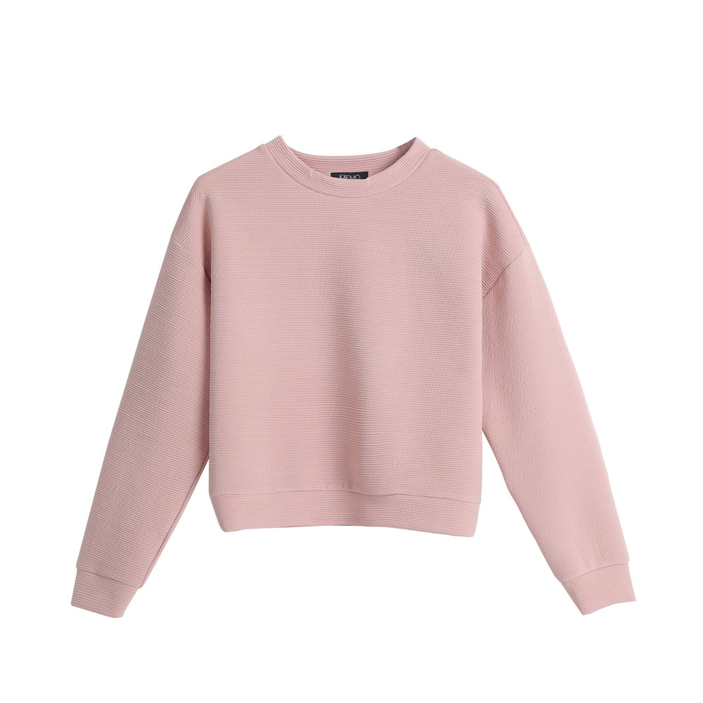 CROPPED PULLOVER | P599