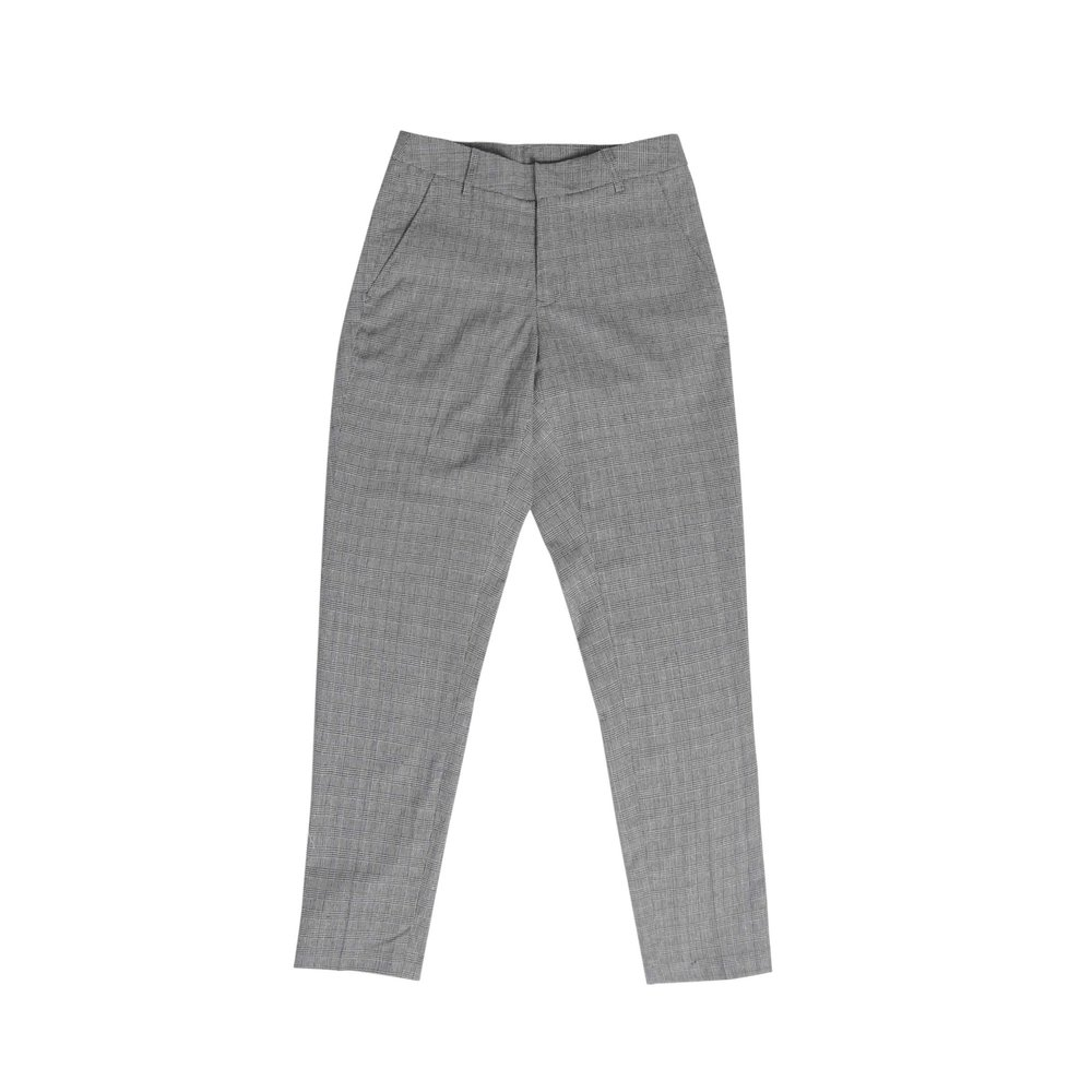 CHECKER SLIM TROUSERS | P1099