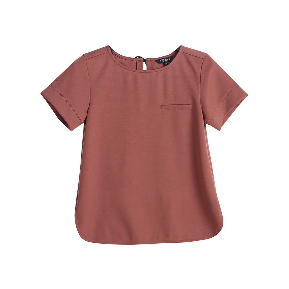 SHORT SLEEVED TEE WITH BACK BOW DETAIL.jpg