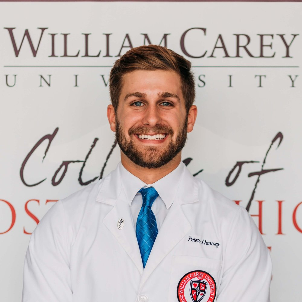 Peter Harvey, OMS-2, William Carey University College of Osteopathic Medicine