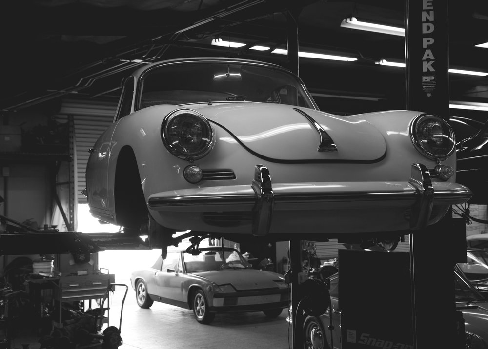 - Our facility is located in Anaheim, at the heart of Orange County. A 6,800 sq.ft. facility that boasts four lifts, a dedicated engine section, exhaust/suspension area and a fully-stocked parts department, we have the tools, the expertise and the enthusiasm that your aircooled steed needs. Make an appointment today and see what we can do for you.