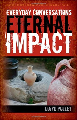 Everyday Conversations:  Eternal Impact - ISBN: 9781597519786PurchaseBy an ancient well outside a small Samaritan town, one conversation impacted an entire community for the gospel. From what began as a seemingly everyday encounter, Lloyd Pulley draws insights that will affect the way you SHARE your faith with those you meet today. This book provides a rare glimpse into Jesus' personal style of evangelism. We can learn much from observing the Master and His ways. It is a vital message for today.