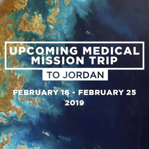 Sat, Feb 16th - Mon, Feb 25th - Medical Mission Trip to Jordan