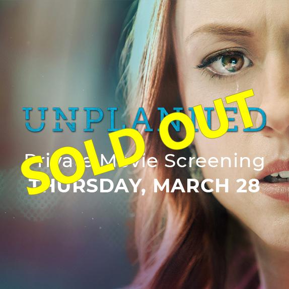 Thurs, Mar 28th at 6:30pm - Pro-Life Movie Screening