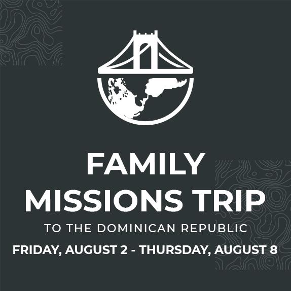 Fri, Aug 2nd - Thurs, Aug 8th - Dominican Republic
