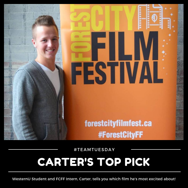 Carter Spence, a Third Year Business Management and Marketing student at Western, and our Marketing Communications Intern, recommends  A Racing Heart  at this year's Forest City Film Festival.