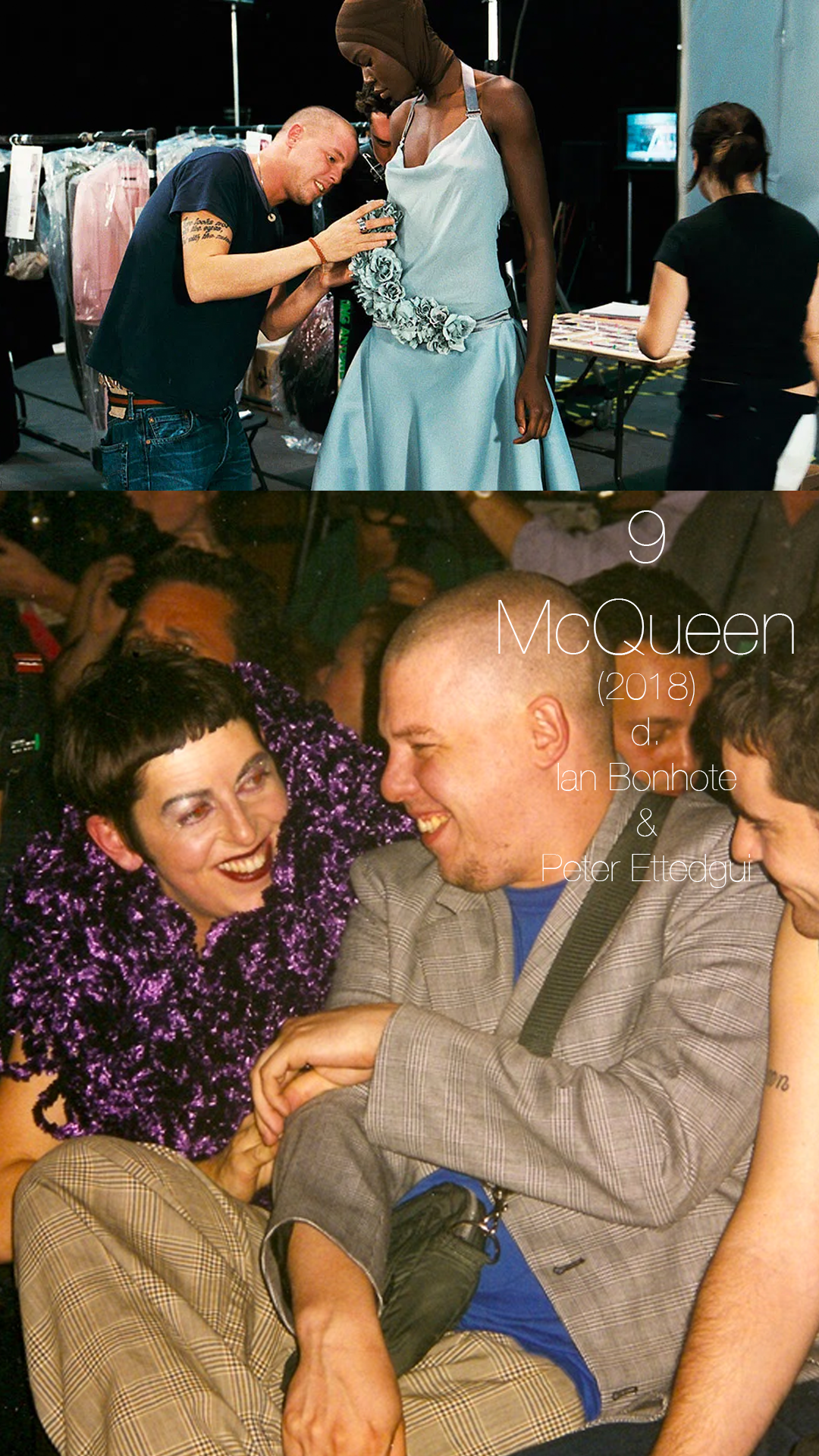 This film about fashion designer Alexander McQueen could not have sounded further away from something I was interested in before I watched it, but within 5 minutes of this documentary about the avant-garde rebellious nature of this artist, I was hooked. The music of this is an added bonus, but I loved learning a lot more about a subject I never think much about. I'm now convinced that high fashion is one big inside joke.