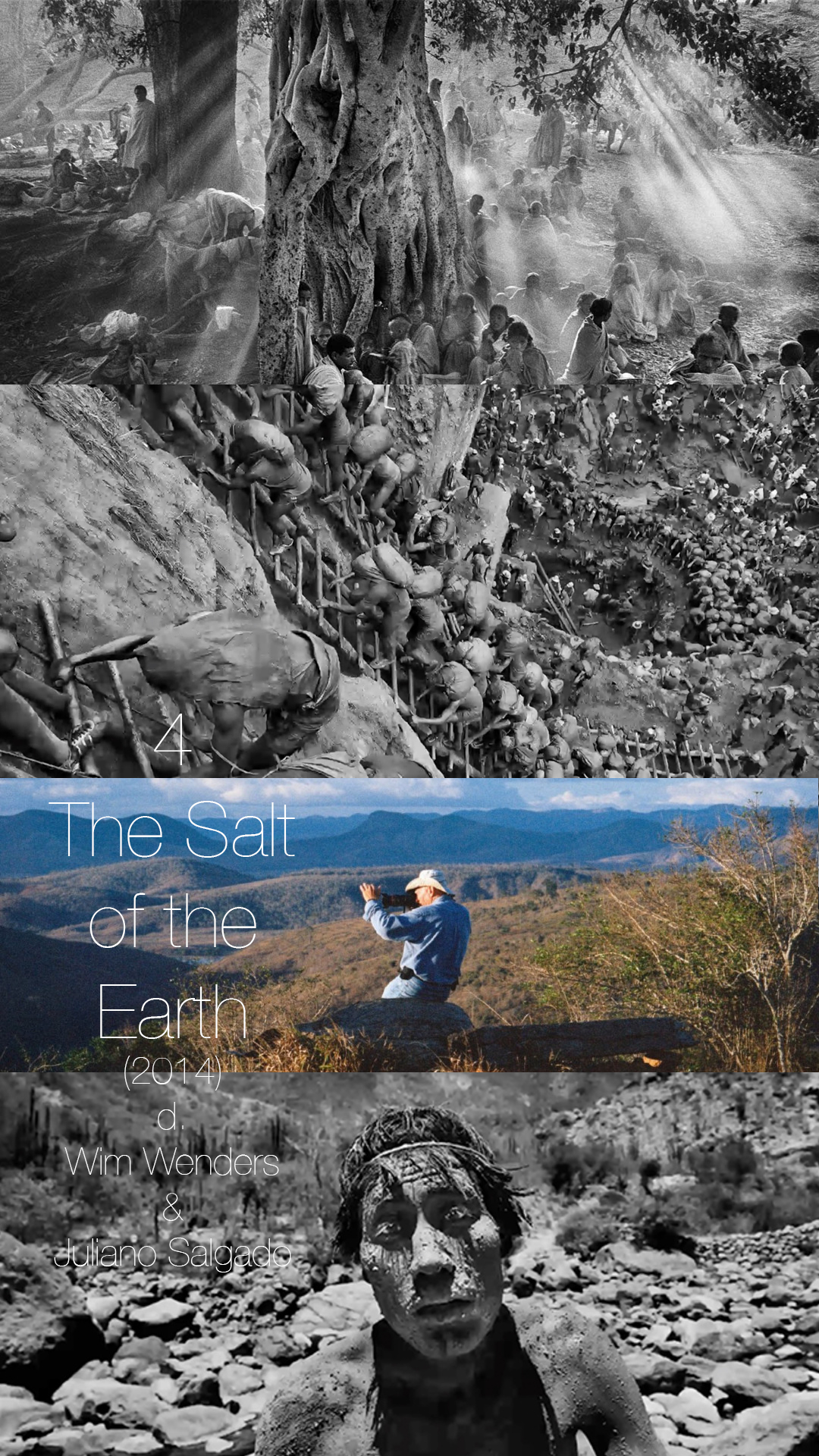 THE SALT OF THE EARTH is a career retrospective of an incredible photographer, and shines a light on some of the most gorgeous pictures ever taken, and shows how photography can represent some of the deepest parts of the human condition.