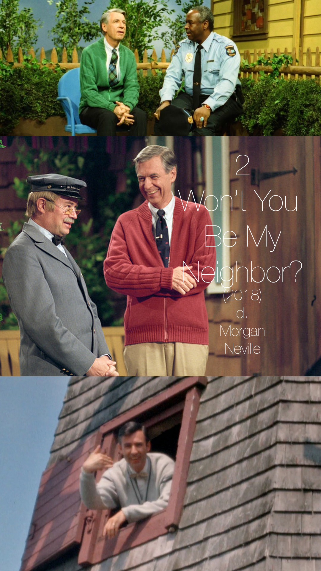 Whether Mr Rogers was a part of your childhood or not, WON'T YOU BE MY NEIGHBOR? will make you want to be a better person. This film is the perfect explanation of why Fred Rogers was important, and the execution feels so perfectly tender. This is a film Mr Rogers himself would be proud of.