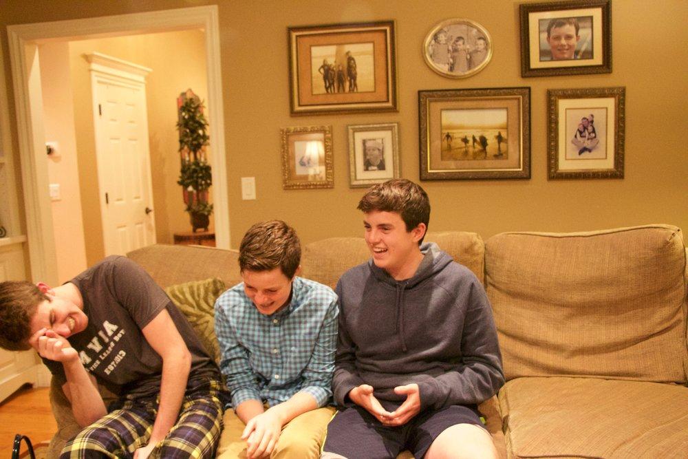 Grady (center)