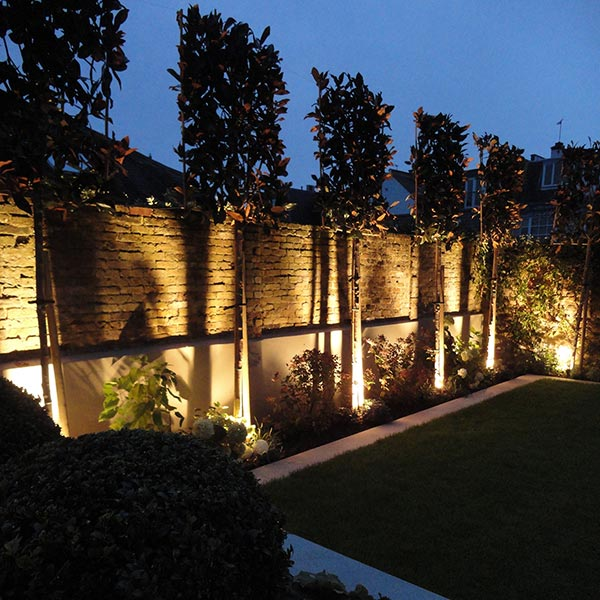 Lighting - Installation of lighting to add an extra outdoor dimension.