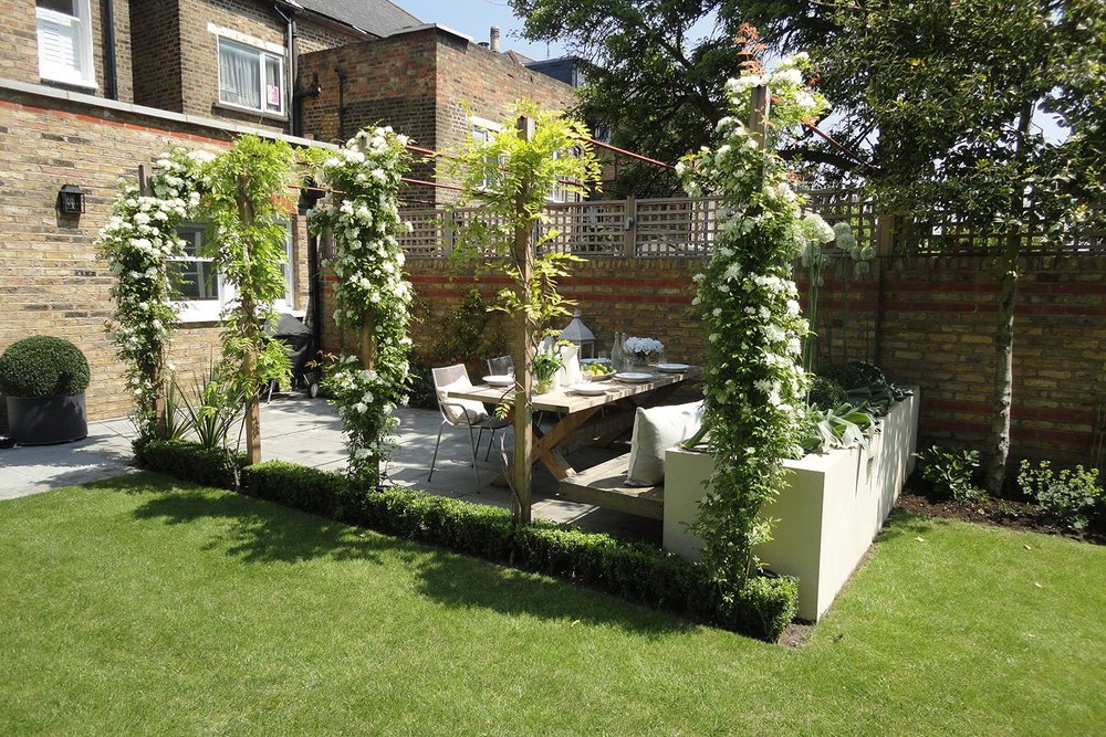 Balham   Romantic Family Garden