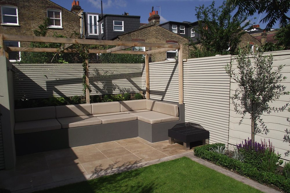 Clapham South   Modern Garden for Young Couple with Newborn