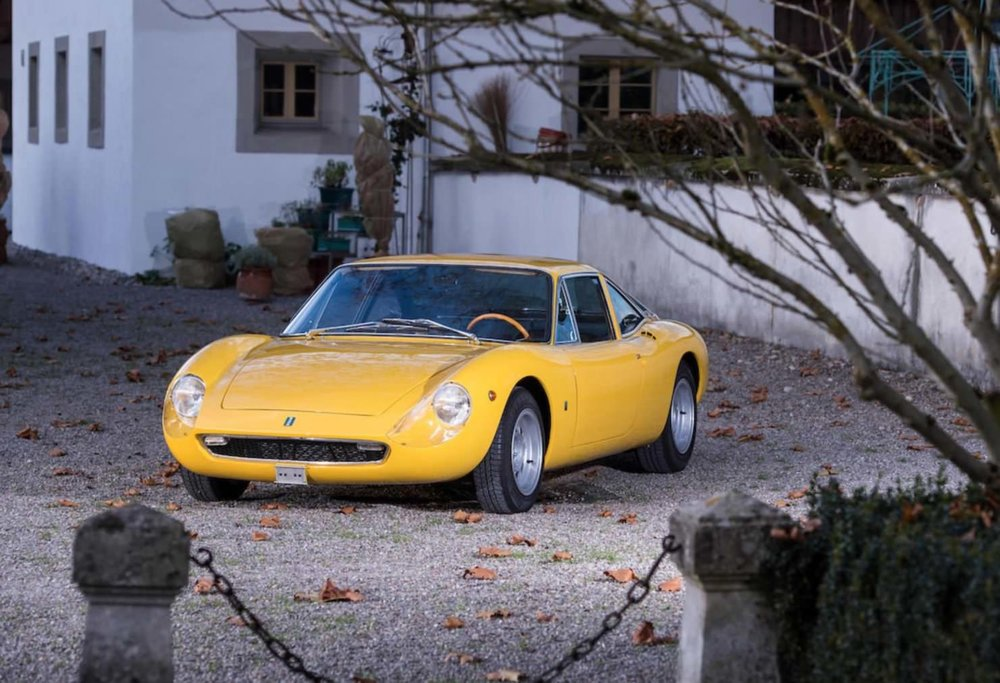 1968 YELLOW DE TOMASO VALLELUNGA images courtesy of Bonhams 10.jpg