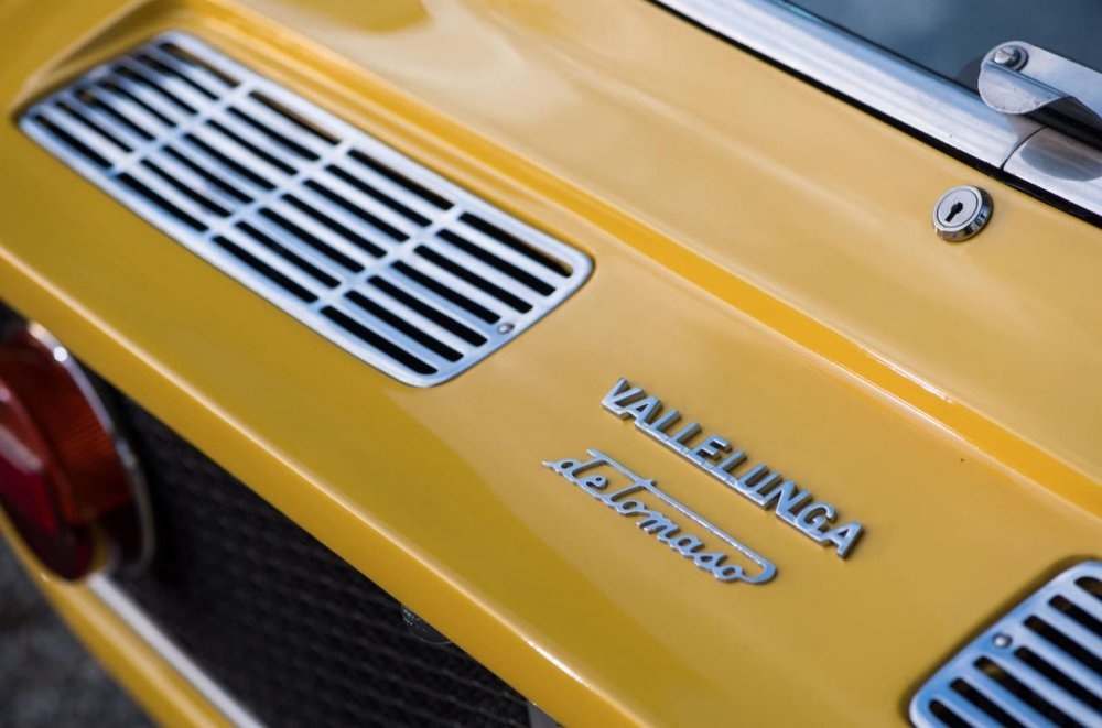 1968 YELLOW DE TOMASO VALLELUNGA images courtesy of Bonhams 8.jpg