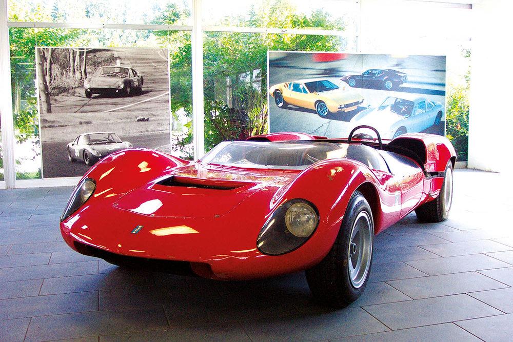 De Tomaso Sport 1000 (BRM 998cc engine.)