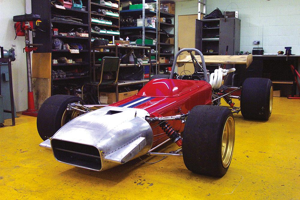De Tomaso Formula 2.