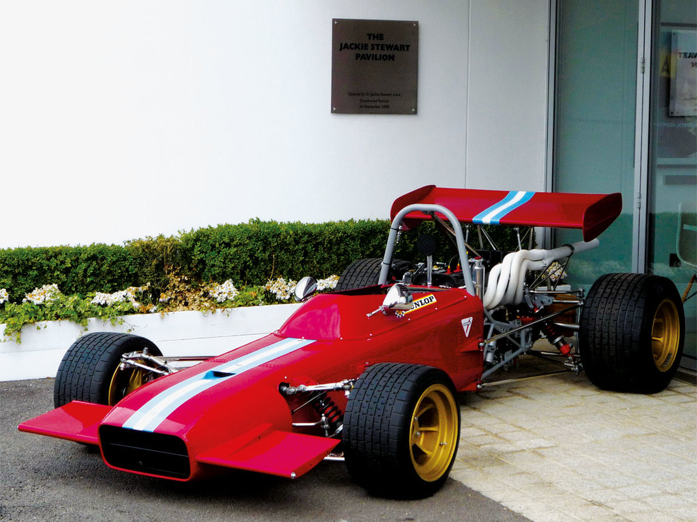 Formula 2 race car.