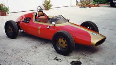 1960 DeTomaso Isis Formula Junior with OSCA competition engine.