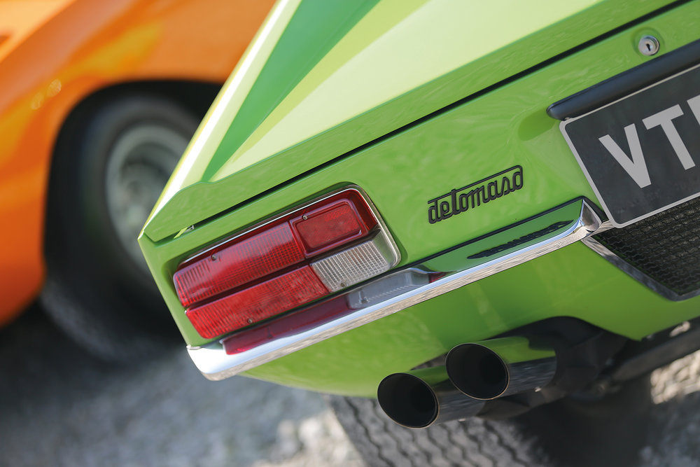 For Sale UK Fully Restored 1972 De Tomaso Pantera.  Image courtesy of Classic & Sports Car Magazine.