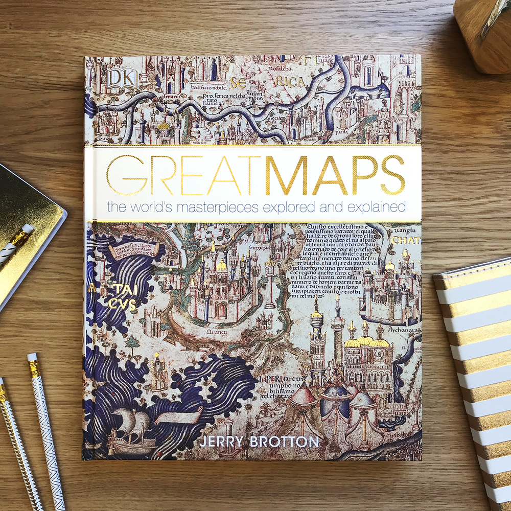 DK's Great Maps front cover