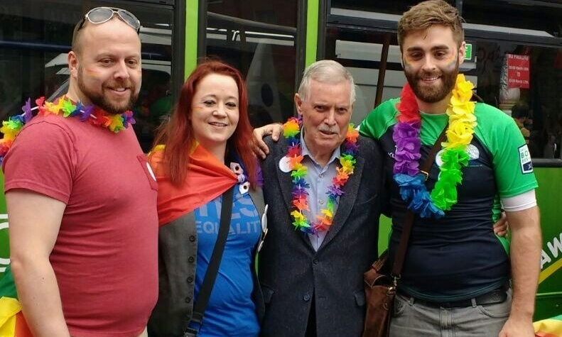 Dublin Pride 2016 - For the first time, Dublin Pride included representation from the Trinity LGBT Staff Network. The Pride march is the largest LGBT event in Ireland's calendar and an essential day for protest, remembrance and celebration.