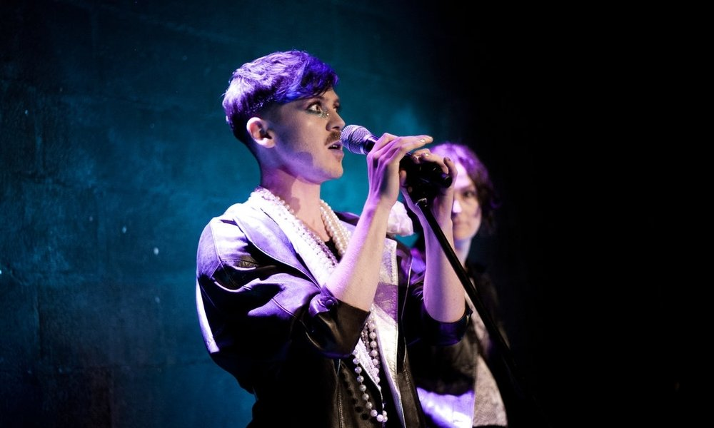 #Queer: Being LGBT in 2017 - An opportunity to play with what it means to be LGBT in the post #marref era, this event was an evening of cabaret and performance hosted by seminal queer performers Stefan Fae and Lady K. Generously supported by the Trinity Equality Fund.