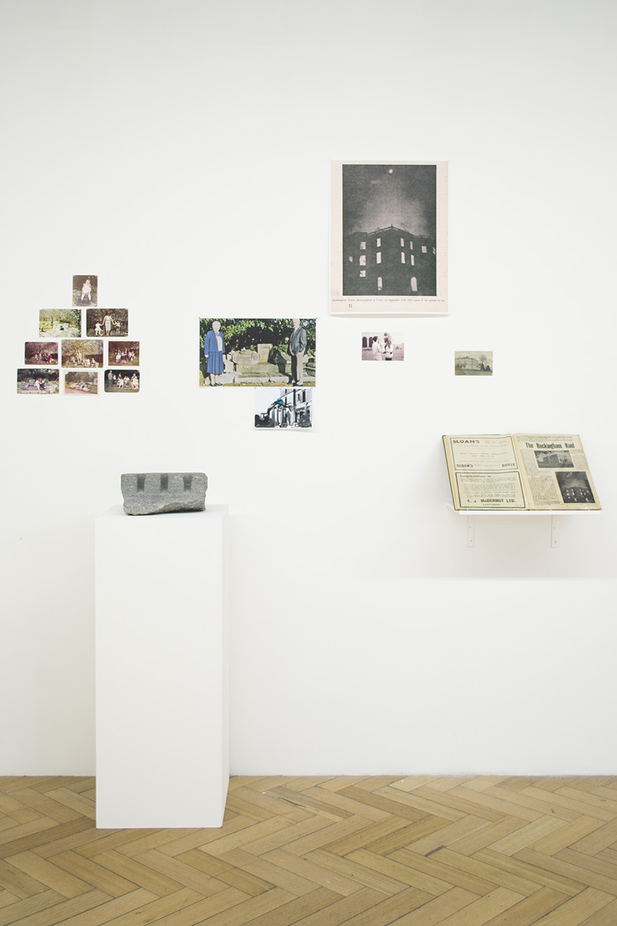 Monuments of Fiction (2012), installation view, West Space